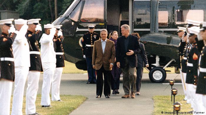 Bill Clinton e Fernando Henrique Cardoso
