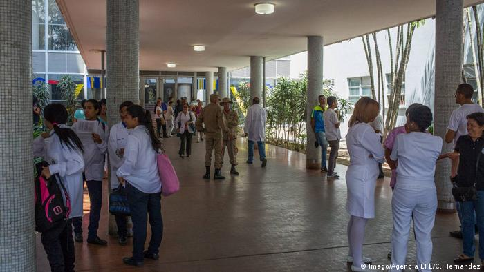 Venezuela Universitätsklinik in Caracas (Imago/Agencia EFE/C. Hernandez)