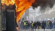 Frankreich Gelbwesten | Proteste & Ausschreitungen in Paris