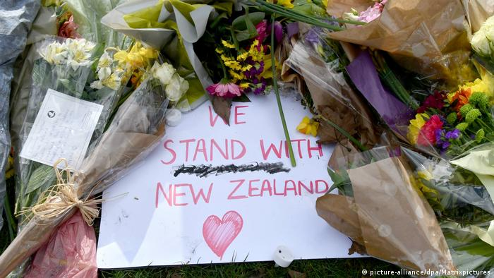 Neuseeland Terroranschlag auf Moscheen in Christchurch | Trauer