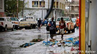 Zerstörung durch Zyklon IDAI in Mosambik
