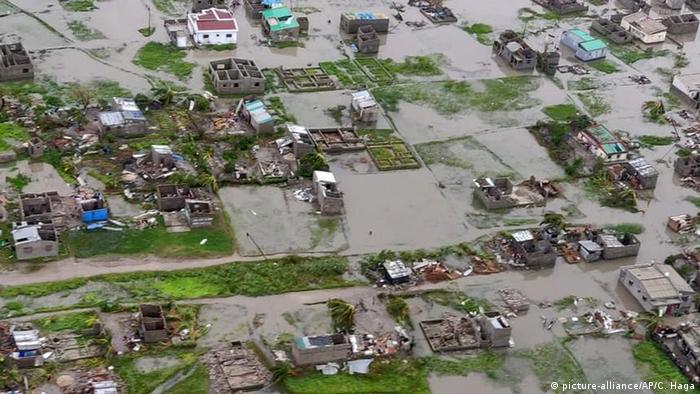 """Mosambik, Beira: Zyklon """"Idai"""" in Mosambik und Simbabwe"""