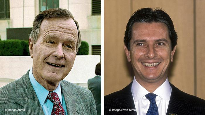 George Bush e Fernando Collor