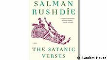 Cover Salman Rushdie Die satanischen Verse englisch