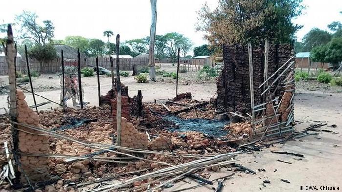 Mosambik Anschlag in Naunde