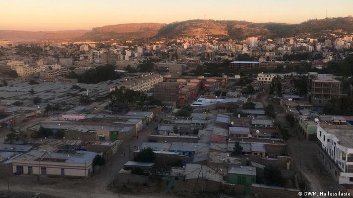 Äthiopien Stadtansicht Mekele