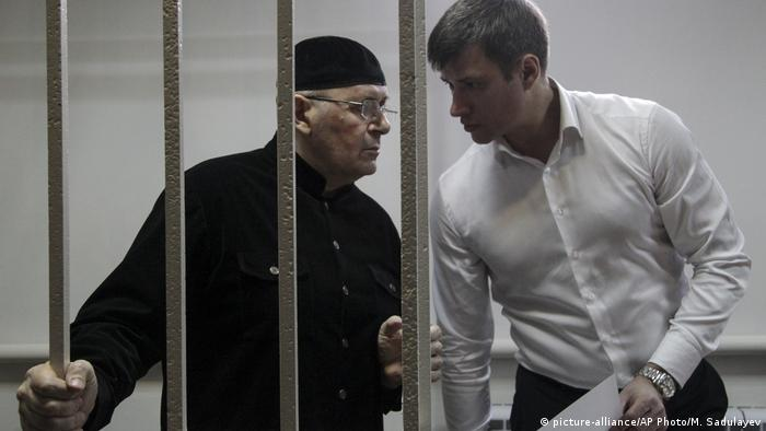 Ojub Titijew russischer Menschenrechtler (picture-alliance/AP Photo/M. Sadulayev)