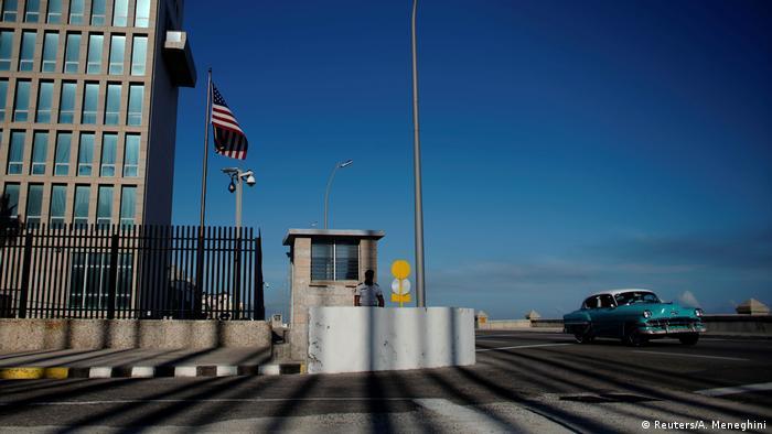 Kuba, Havana: US Amerikanische Botschaft
