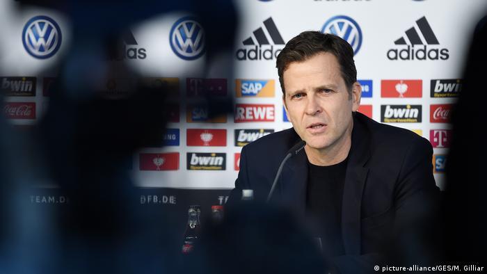 Wolfsburg Nationalmannschaft Oliver Bierhoff DFB-Pressekonferenz