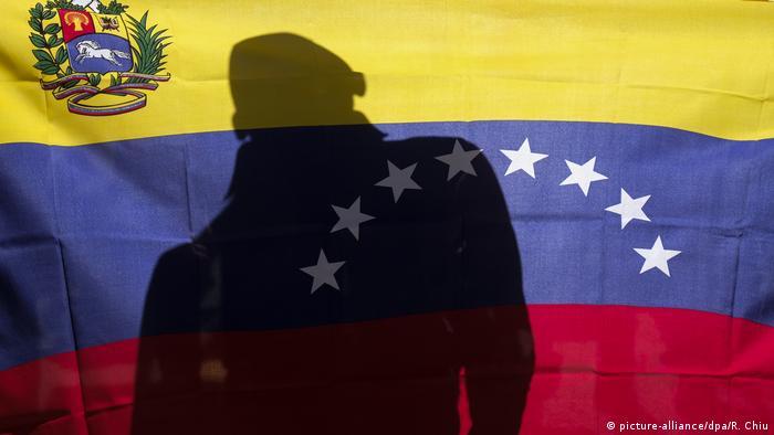 Los Angeles Venezuela «Hände weg von Venezuela!» Demonstration