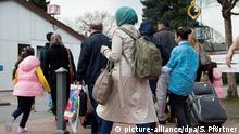 Grenzdurchgangslager Friedland Syrische Flüchtlinge