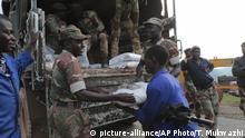 Simbabwe Zyklon Idai Hilfsgüter