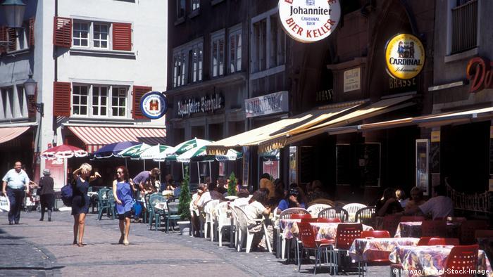 Restaurants en Zúrich, Suiza.