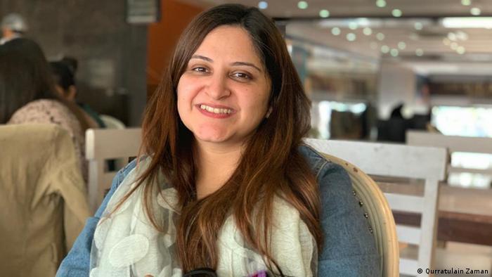 Maria Umer, founder of Women's Digital League Pakistan (photo: Qurratulain Zaman/ Maria Umer)