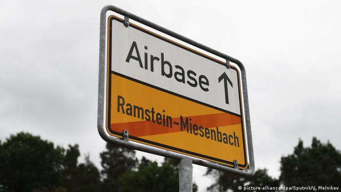 Ramstein US military airbase in Germany