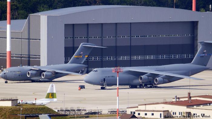 Amerykańska baza wojskowa w Ramstein w Niemczech