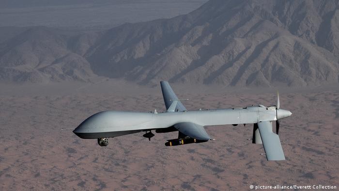 Uzbrojony dron MQ-1 Predator