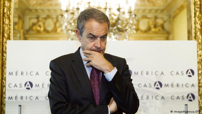 Ehemaliger spanischer Premier Jose Luis Rodriguez Zapatero (imago/Agencia EFE)