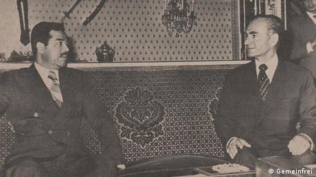Lima tahun sebelumnya, pada Maret 1975, Hussein, yang saat itu menjabat sebagai Wakil Presiden Irak, dan Raja Iran saata itu Shah Pahlavi menandatangani perjanjian di Aljazair, untuk menyelesaikan sengketa perbatasan