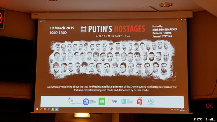 Постер к фильму Заложники Путина: украинские политзаключенные Кремля