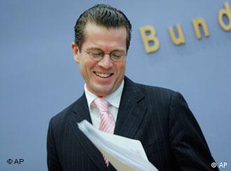 Economy Minister Karl-Theodor zu Guttenberg