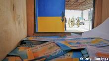 Ukraine Präsidentschaftswahlkampagne an der Grenze zur Krim