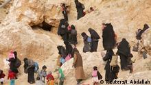 Familien von IS-Kämpfern in Syrien