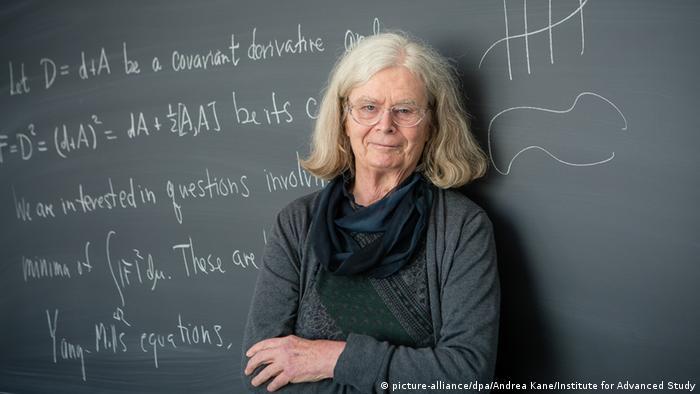 Mathematikerin Karen Keskulla Uhlenbeck erhält Abelpreis (picture-alliance/dpa/Andrea Kane/Institute for Advanced Study)