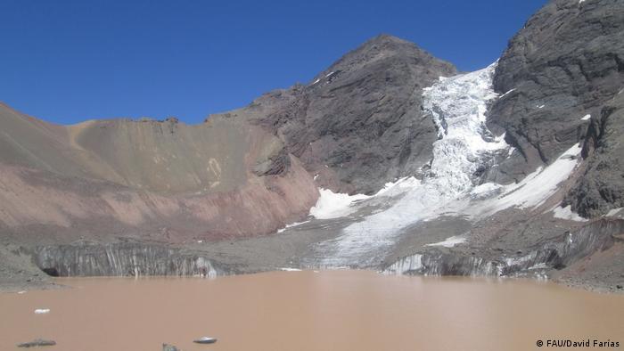 Projekt: Vermessung der südamerikanischen Gletscher der Friedrich-Alexander-Universität Erlangen-Nürnberg (FAU/David Farías)