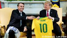 USA Washington - President Trump trifft auf Jair Bolsonaro