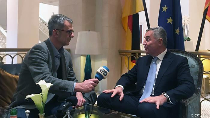 Milo Djukanovic im DW Interview