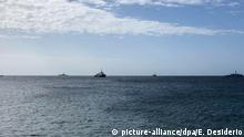 Italien, Lampedusa: Flüchtlingshilfsschiff «Mare Jonio» beschlagnahmt
