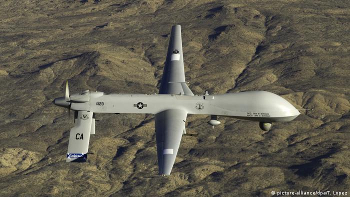 این پهپاد که پیشتر با نام RQ1 شناخته میشد از سال ۱۹۹۵ تا سال ۲۰۱۸ مهمترین پهپاد شناسایی و بعدا عملیاتی ارتش آمریکا بود. در کشورهای افغانستان، پاکستان، بوسنی، لیبی، یمن و سوریه از آن صدها بار برای حملات نظامی هدفمند استفاده شده است. ۳۶۰ فروند از این پهپاد به نیروی هوایی آمریکا تحویل داده شد که آخرین آن در سال ۲۰۱۱ بود.