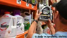 Monsanto Roundup at a store in California