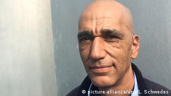 Tahir Della from the 'Inititiative Schwarze Menschen in Deutschland'