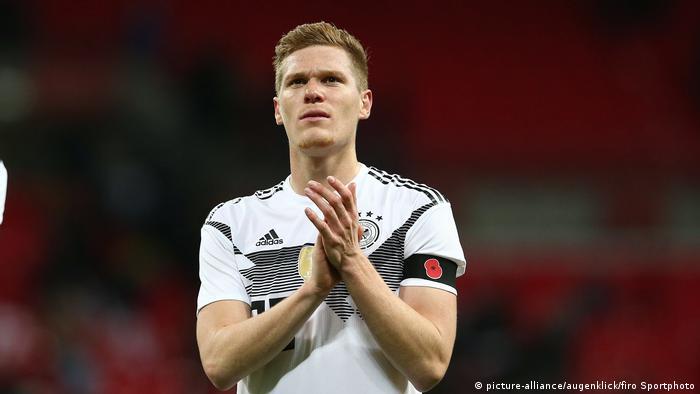 Marcel Halstenberg Fußball, Saison 2017/2018 Länderspiel: England - Deutschland (picture-alliance/augenklick/firo Sportphoto)