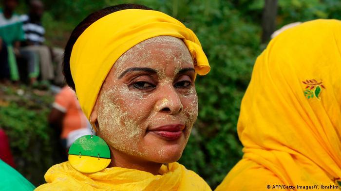 Wahlkampf auf den Komoren (AFP/Getty Images/Y. Ibrahim)