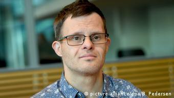 Sebastian Urbanski - Schauspieler mit Down-Syndrom (picture-alliance/dpa/B. Pedersen)