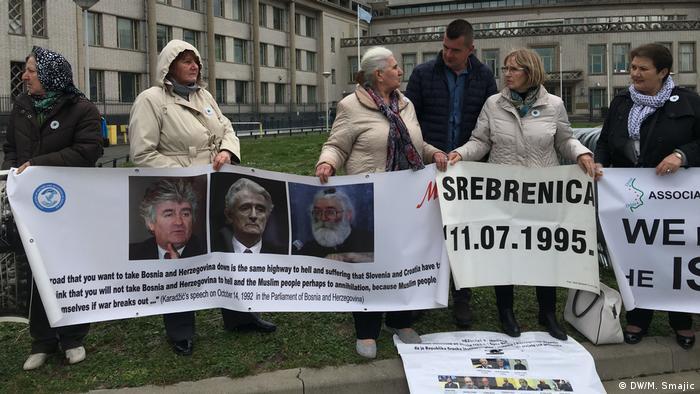 Urteil gegen Radovan Karadzic in Den Haag