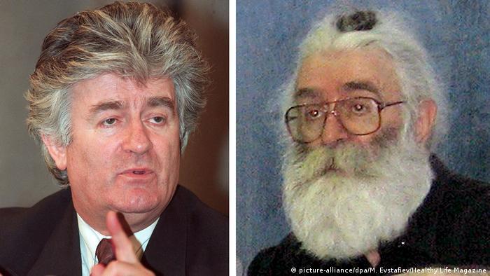 Radovan Karadzic as himself and while hiding as Dragan Dabic