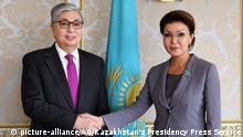 Kasachstan Dariga Nazarbayeva zum Vorsitzenden des Senats gewählt