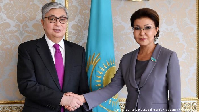Президент Казахстана Касым-Жомарт Токаев и Дарига Назарбаева