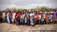 Mosambik Buzi Nach Zyklon IDAI