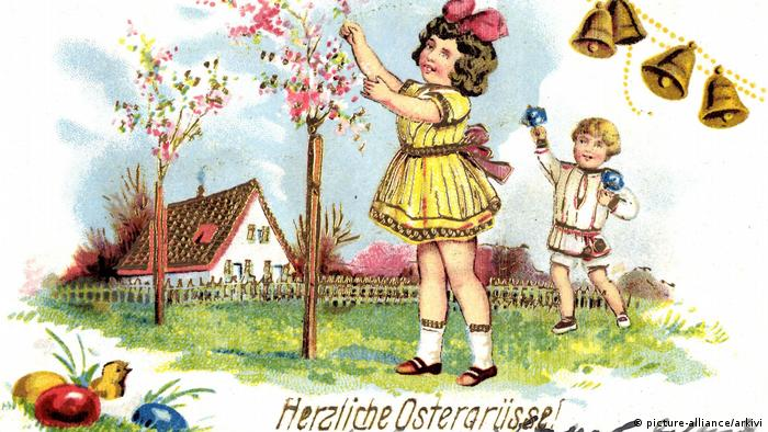 Открытка 1910 года
