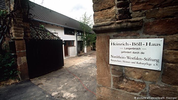 Deutschland Heinrich Böll Haus in Langenbroich (1991)
