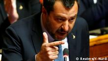 Italien Parlament in Rom | Matteo Salvini, Innenminister (Reuters/Y. Nardi)