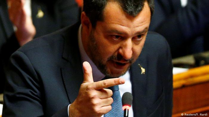 Matteo Salvini (Reuters/Y. Nardi)