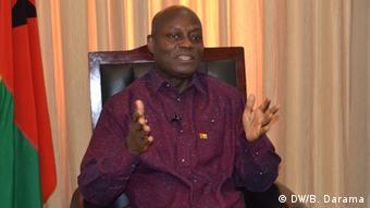 DW-Interview mit José Mário Vaz, Präsident von Guinea-Bissau