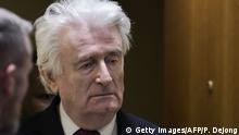 Niederlande Den Haag - Radovan Karadzic vor Strafgerichtshof
