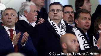 Fußball Freundschaftsspiel Deutschland - Serbien | Reinhard Grindel, DFB-Präsident (Getty Images/Bongarts/A. Grimm)